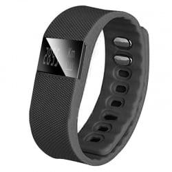 Bluetooth Ρολόι καταγραφέας Fitness Smartwatch tracker – TW64 QUINTIC Black