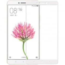 Xiaomi MI Max Προστατευτικό Τζαμάκι Λευκό 0.3mm 9H Hardness 2.5D Explosion-proof Full Screen Tempered Glass Screen Film White
