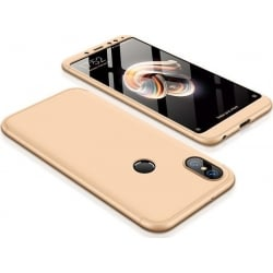 Xiaomi Redmi Note 5 / Note 5 Pro GKK Full Coverage Protective Σκληρή Θήκη Χρυσό Hard Case Gold