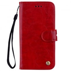 Xiaomi Redmi Note 5 / Note 5 Pro Θήκη Βιβλίο Κόκκινο Business Style Leather Red