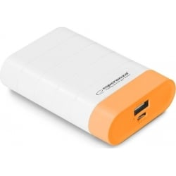 Power Bank Esperanza EMP110WO Graviton 4.800mAh White Orange