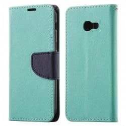 Samsung Galaxy A3 2017 A320 Θήκη Βιβλίο Βεραμάν - Μπλέ Fancy Book Case Telone Mint - Navy