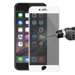 iPhone 7 / 8 Φιμέ ENKAY 0.26 mm Full Screen Προστατευτικό Τζαμάκι Λευκό Tempered Glass 9H Surface Hardness 3D White