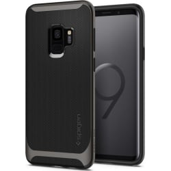Θήκη Spigen Neo Hybrid για Samsung Galaxy S9 GUNMETAL 592CS22856