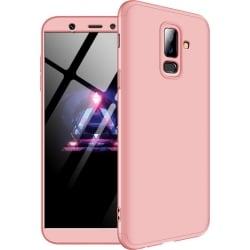 Samsung Galaxy A6 Plus 2018 GKK Full Coverage Protective Σκληρή Θήκη Ροζ Hard Case Pink