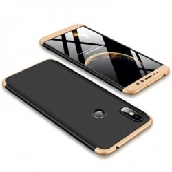 Xiaomi Redmi S2 GKK Full Coverage Protective Σκληρή Θήκη Μαύρο - Xρυσό Hard Case Black - Gold