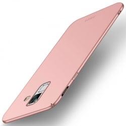 Samsung Galaxy A6 Plus 2018 MOFI Shield Super Slim Σκληρή Θήκη Ροζ-Χρυσό Hard Case Rose-Gold