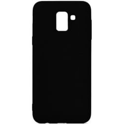 Samsung Galaxy J6 2018 Θήκη Σιλικόνης Μαύρη Ultra Shine Silicone Case Black