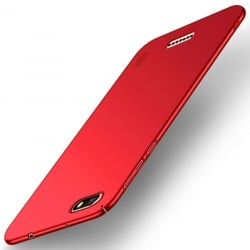 Xiaomi Redmi 6A MOFI Shield Super Slim Σκληρή Θήκη Κόκκινη Hard Case Red