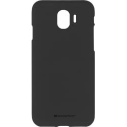 Samsung Galaxy J4 2018 Goospery Soft Feeling Θήκη Σιλικόνης Μαύρο Silicone Case Black