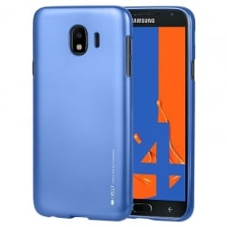 Samsung Galaxy J4 2018 Goospery iJelly Case Θήκη Σιλικόνης Μπλε Silicone Case Blue