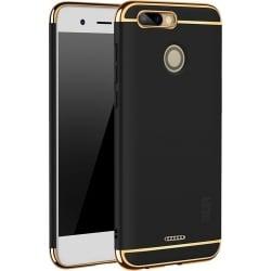 Xiaomi Redmi 6 Mofi Ultra-Thin Electroplating Side Protective Σκληρή Θήκη Μαύρη Με Χρυσό Περίγραμμα Hard Case Black
