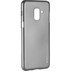 Samsung Galaxy A6 2018 Goospery iJelly Case Θήκη Σιλικόνης Γκρι Silicone Case Grey