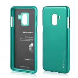 Samsung Galaxy A6 2018 Goospery iJelly Case Θήκη Σιλικόνης Πράσινο Silicone Case Green