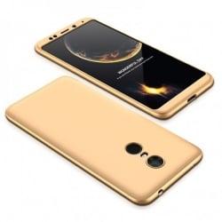 Xiaomi Redmi 5 Plus GKK Full Coverage Protective Σκληρή Θήκη Xρυσό Hard Case Gold