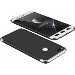 Xiaomi Mi 5X / Mi A1 GKK Full Coverage Protective Case Back Hard Case Μαύρο-Ασημί Black-Silver