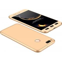 Xiaomi Mi 5X / Mi A1 GKK Full Coverage Protective Case Back Hard Case Χρυσό Gold