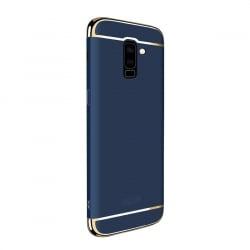 Samsung Galaxy A6 Plus Mofi Ultra-Thin Electroplating Side Protective Σκληρή Θήκη Μπλε Με Χρυσό Περίγραμμα Hard Case