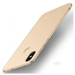 Xiaomi Mi 8 MOFI Shield Super Slim Σκληρή Θήκη Χρυσή Hard Case Gold