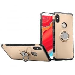 Xiaomi Redmi S2 Magnetic 360 Degree Rotation Ring Holder Armor Θήκη Χρυσό Gold