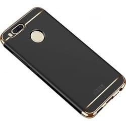 Xiaomi Mi A1 / Mi 5X Mofi Ultra-Thin Electroplating Side Protective Σκληρή Θήκη Μαύρη Με Χρυσό Περίγραμμα Hard Case Black