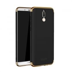 Huawei Mate 10 Lite Mofi Ultra-Thin Electroplating Side Protective Σκληρή Θήκη Μαύρη- με Χρυσό Περίγραμμα Hard Case Black