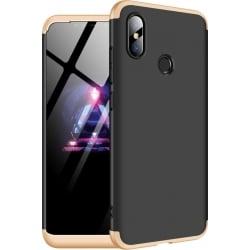 Xiaomi Mi 8 GKK Full Coverage Protective Σκληρή Θήκη Μαύρη - Χρυσό Hard Case Black - Gold