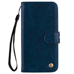 Xiaomi Mi 5X / Mi A1 Δερμάτινη Θήκη Βιβλίο Μπλε Business Style Flip Leather Book Case Blue