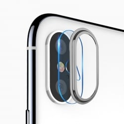 iPhone X / XS / XS MAX Αντιχαρακτικό γυαλί κάμερας TOTUDESIGN High PermeabilityTempered Glass Camera lens 9H – 0.15mm Grey