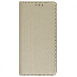 Huawei Y6 2018 Θήκη Βιβλίο Χρυσό Book Case Smart Magnet Telone Gold