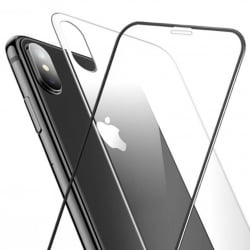 iPhone XS Max Baseus Full Screen Set Front And Back Black SGAPIPH65-TZ01 Tempered Glass