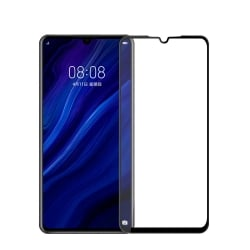 Huawei P30 MOFI 9H 3D Εμπρός και Πλάγια Μαύρο Anti-Finger Full Screen 9H Tempered Glass Black