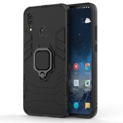 Huawei P Smart 2019 Θήκη Με Σταντ TPU Shockproof with Magnetic Ring Holder Black