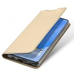 Samsung Galaxy A70 Θήκη Βιβλίο Dux Ducis Skin Pro Book Case Gold