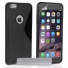 iPhone 6 Plus / 6s Plus Θήκη Σιλικόνης Μαύρη Silicone S Case Black