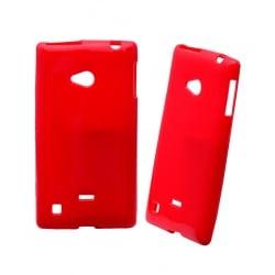 Lumia 720 Θήκη Σιλικόνης Κόκκινη / Tpu Silicone Case Red
