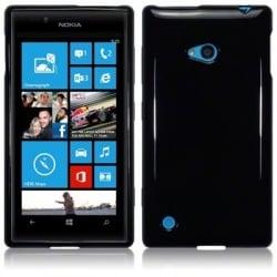 Lumia 720 Θήκη Σιλικόνης Μαύρη / Tpu Silicone Case Black
