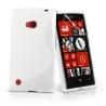 Lumia 720 Θήκη Σιλικόνης Άσπρη / Silicone S Case White