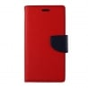 Sony Xperia M4 Aqua Θήκη Βιβλίο Κόκκινο Fancy Book Case Telone Red