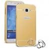 Samsung Galaxy S3 / S3 Neo Θήκη Αλουμινίου Με Πλάτη Καθρέφτης Χρυσός Mirror Hard Case Gold