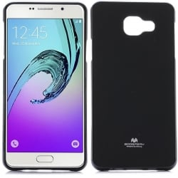 Samsung Galaxy A7 2016 Goospery Jelly Case Θήκη Σιλικόνης Μαύρη Silicone Case Black
