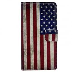 Samsung Galaxy S6 Θήκη Βιβλίο Αμερική Book Case