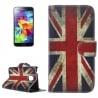 Samsung Galaxy S5 Mini Θήκη Βιβλίο Αγγλική Σημαία Book Case