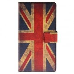 Sony Xperia M4 Aqua Θήκη Βιβλίο Μπλέ Πεταλούδα Book Case