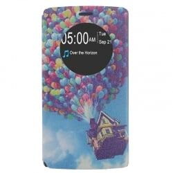 LG G4 Θήκη Βιβλίο Σπίτι Από Μπαλόνια Book Case
