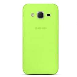 Samsung Galaxy Grand Prime Θήκη Σιλικόνης Πράσινη Silicone Case Ultra Slim 0,3mm Transparent Green