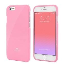 iPhone 7 Plus Θήκη Σιλικόνης Απαλό Ροζ Goospery Silicone Jelly Case Light Pink