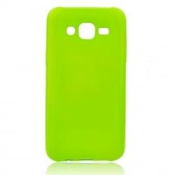 Samsung Galaxy J5 2015 Θήκη Σιλικόνης Λαχανί Στρας Silicone Candy Case Lime