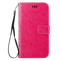 Huawei P9 Lite Θήκη Βιβλίo Φούξια Book Case Fuchsia