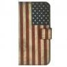 iPhone 6 / 6s Θήκη Βιβλίο Αμερικάνικη Σημαία Book Case